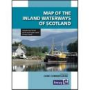 Imray Map of the Inland Waterways of Scotland