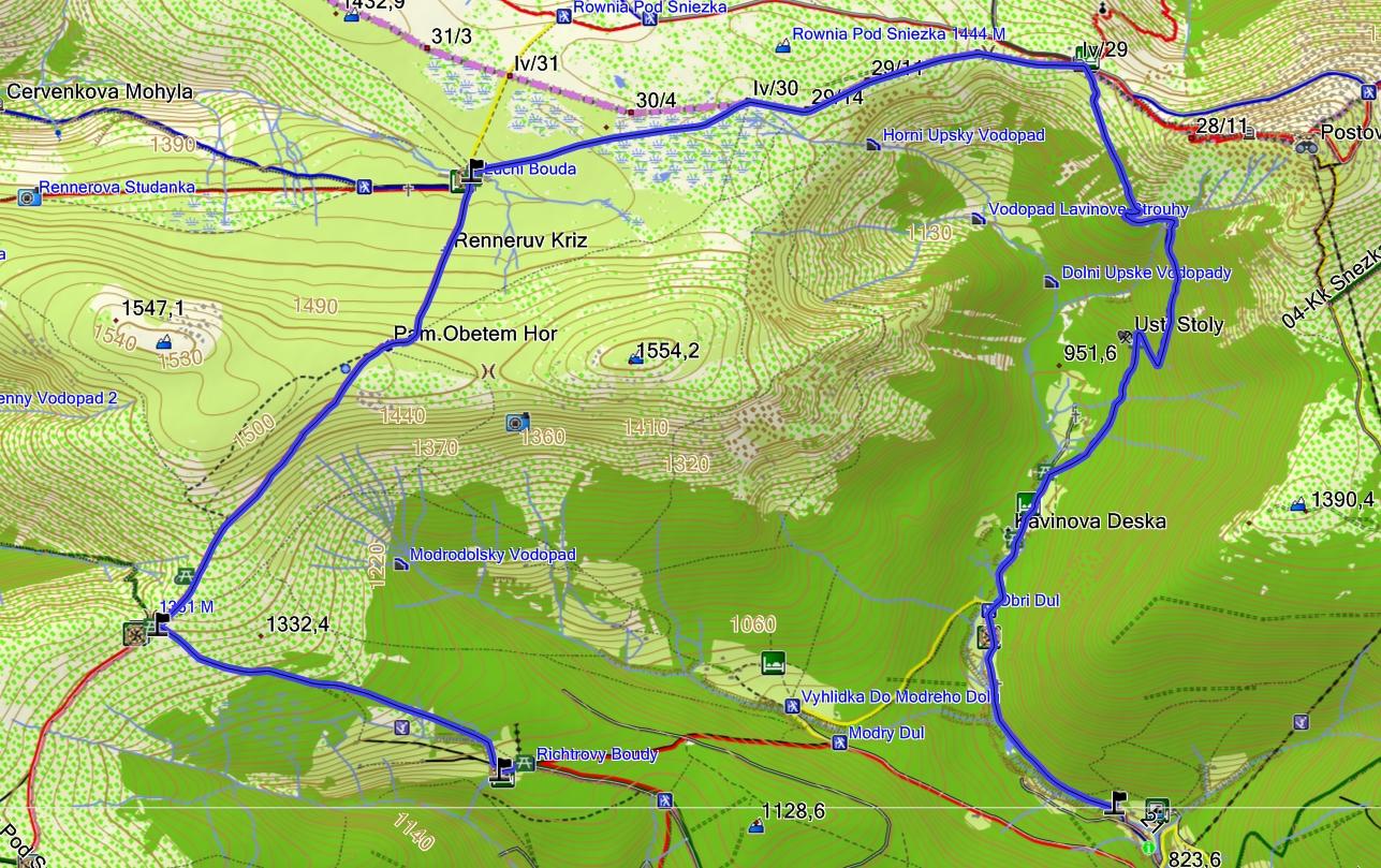 Mapa Topo Mapa Cr